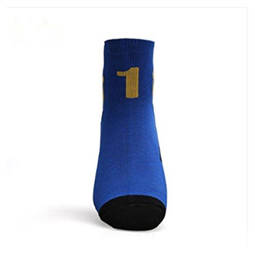 友情輝くおもてなし純綿のバスケットボールの中の筒の運動の色の多選の運動の靴下