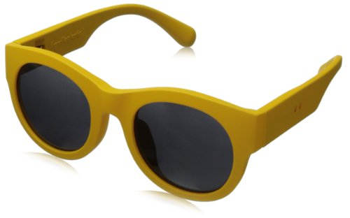 grafik:plastic David Wayfarer Sunglasses,Yellow & Grey,51 mm by grafik:plastic