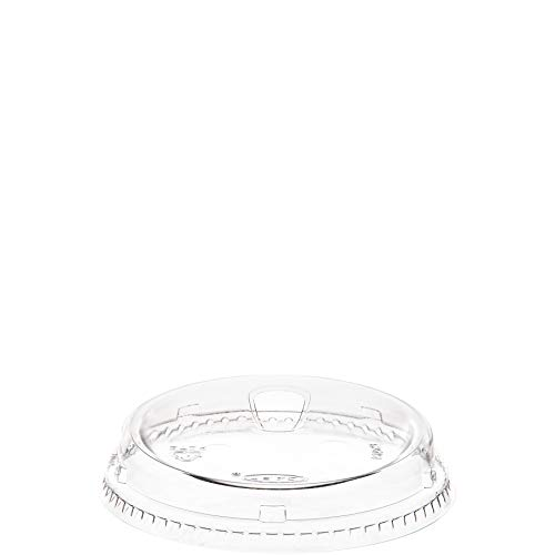 Dart 626NSL Clear Strawless lid, Crystal Clear and Crack Resistant, For use with - TP12S, TP16D, TP20, TD24, TD26, RTP16DBARE, RTP20BARE, RTD24BARE, 12PX, 16FPX, 16PX, 20PX, 24PX, 12PXW (Case of 1000)