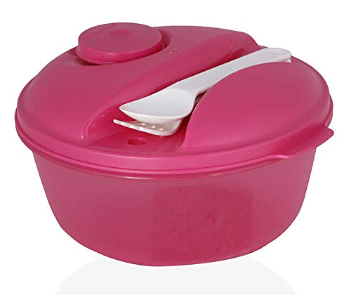 Tupperware Salad Meals Eat on The Go 1pc