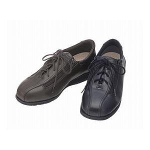 介護靴 外出用 コンフォート2 7E(ワイドサイズ) 7014 両足 徳武産業 あゆみシリーズ /M (22.0~22.5cm) 黒 B07D1K2ZC7
