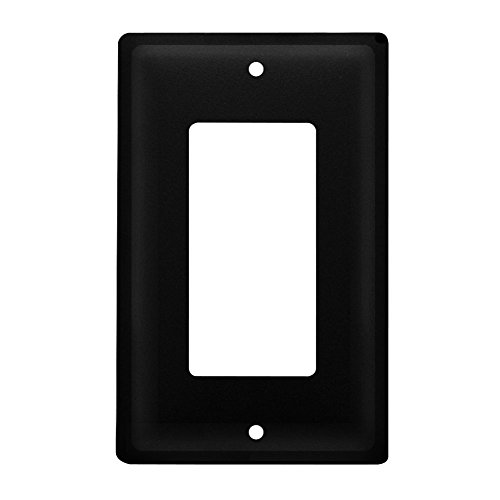 Iron Plain Single Modern Switch Cover - Heavy Duty Metal Lig