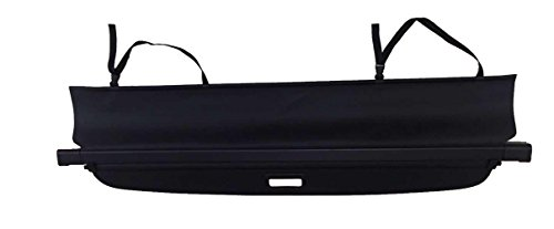 Kaungka Cargo Cover for 2008-2016 Jeep Patriot/Compass Black Retractable Trunk Shielding Shade (There is no Gap Between The Back Seats and The Cover)