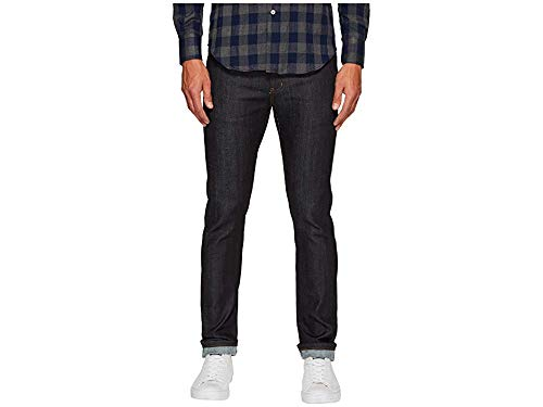 Naked & Famous Denim Men's Super Guy-Cashmere Blend Stretch, Navy, 32 (Best Super Skinny Jeans For Guys)