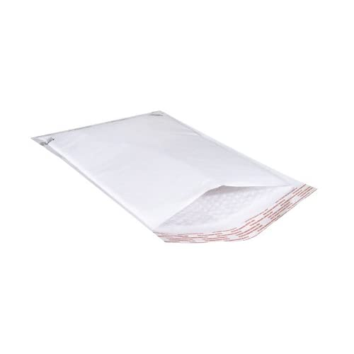 The Packaging Wholesalers 000-82060 4 x 8 Inches White Self-Seal Bubble Mailer, 500 per Case (ENVB851WSS)