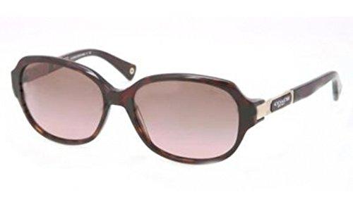 Coach Sunglasses - Annette / Frame: Dark Tortoise Lens: Brown Gradient - Pink Coach Glasses