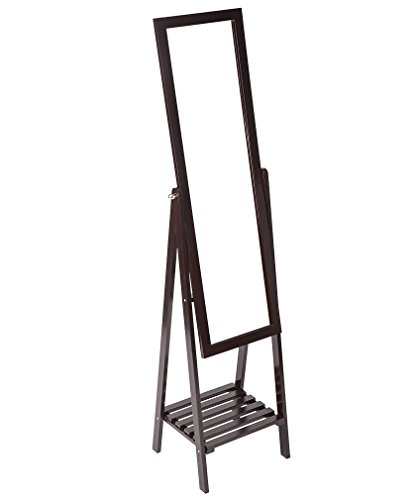 31x0Kgiy0BL - Cheval Mirror Floor Standing Full Length Dressing Room Bedroom Swivel Mirror