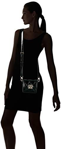 bks Femme black X Status Guess w 5x8 Shine Portés Cm 18x14 Noir Épaule L Sacs H ra1aq8