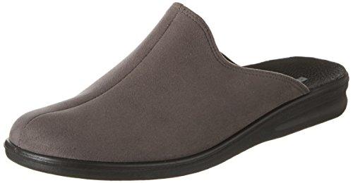 Romika Präsident 445 - Zapatillas de casa Hombre gris (Asphalt)
