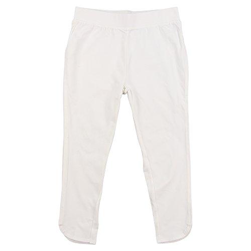 Sag Harbor Women's Capri Leggings (White, X-Large) (Pants Sag For Women Harbor White)