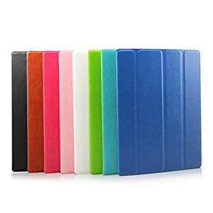 xiao Solid Color PU Leather Case with Stand for iPad2/34 , Green