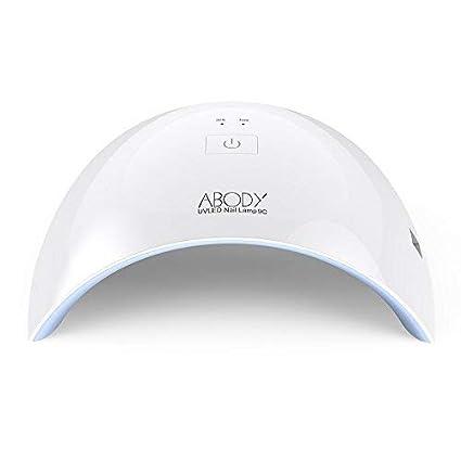 abody sun9 C 24 W LED Luz ultravioleta para endurecimiento de uñas TRO Completo Blanco Luz