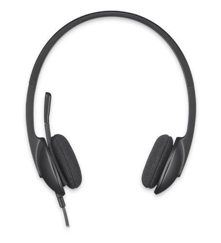 123 opinioni per Logitech USB Headset H340