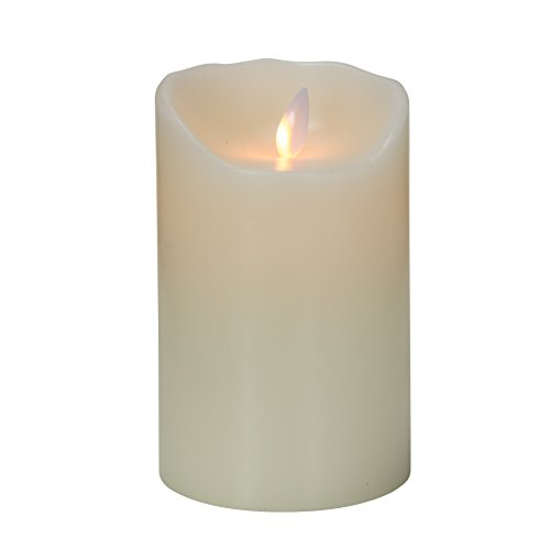 Mystique Flameless Candle, Ivory 5