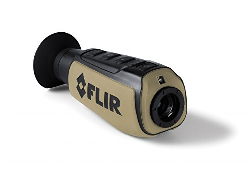FLIR Systems Scout III-240 Thermal Imager, Detector 240X180 30Hz, Black/Brown by FLIR Systems, Inc.
