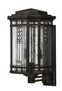 Hinkley 2244RB Transitional Four Light Wall Mount from Tahoe collection in Bronze/Darkfinish,