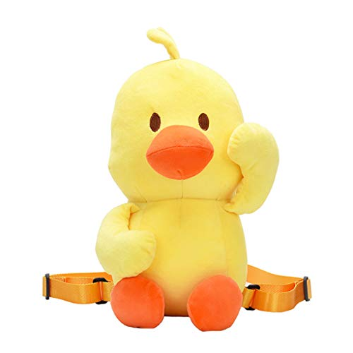 TUU Unisex Cute Little Yellow Duck-Like Plush Crossbody Bags Weird Bag Backpack Package (Best Duck Loads 2019)