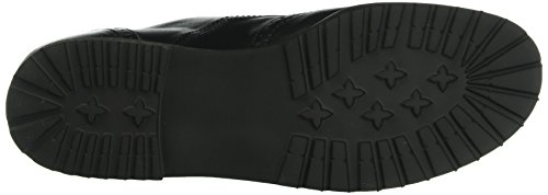 Ganter Ladies Frida, Wide F Derby Black (nero 0100)