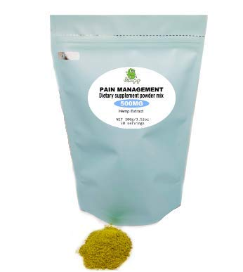 Hempy PAIN MANAGEMENT-Diet Supplement Powder-Natural Pain Relief Sources-Zero side effects-Vegan-Powdered tea