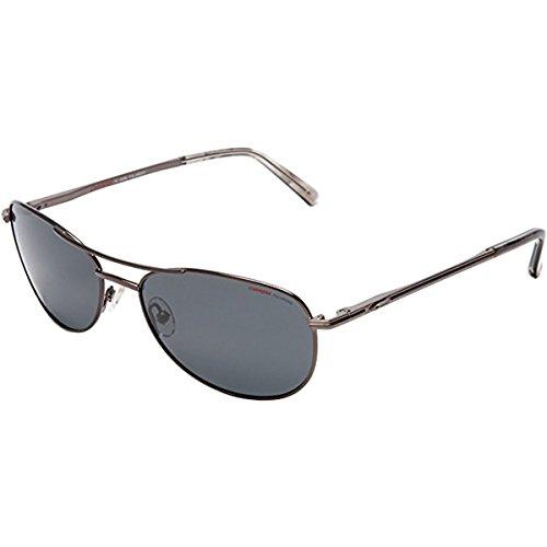 (Carrera Men's Carrera 928 Aviator Sunglasses,Shiny Gunmetal Frame/Grey Lens,one size)