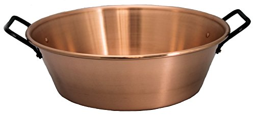 Stainless Steel Silver 4.5 L KitchenCraft Home Made Maslin Jam Pan for Induction Hob