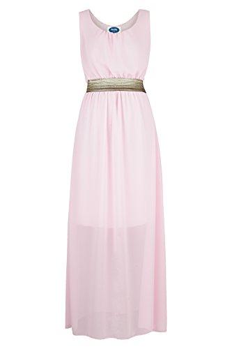 AO Maxi vestido de gasa vestido de lila