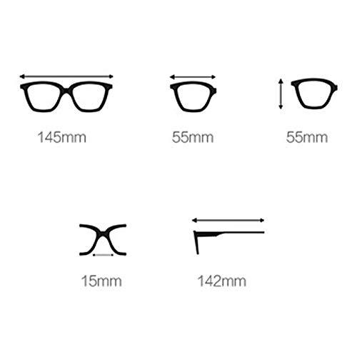 Versión Color de 1 2 Metal Hombres Gafas de Personalidad la los Retro de Sol TP Coreana d6xdO