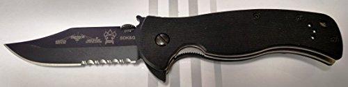 Emerson Range Master Sheepdog BTS Flipper Knife with Partial