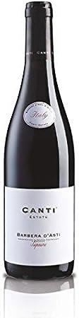 CANTI Barbera d'asti D.O.C.G. Superiore Vino Tinto Italiano - 1 Botella X 750ml