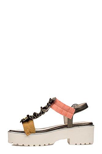 Ukendte 181 Kvinder Clio212lam Flerfarvet Læder Sandaler LgIg1f