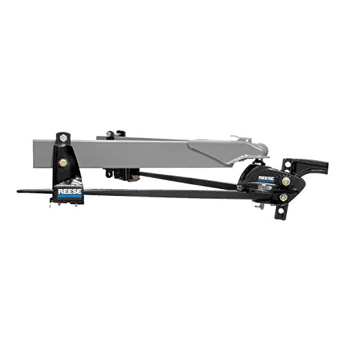 (Reese 66561 Steadi-Flex Trunnion Weight-Distributing Hitch Kit with Shank-14,000 lb)