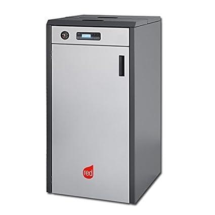 Red Pellet Calefacción 24,5 kW Compact 24 pellets Calefacción Pellet Caldera