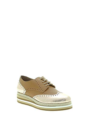 Casual Mally Zapatos Mujeres 6158 Cuoio rEaBFw4rq