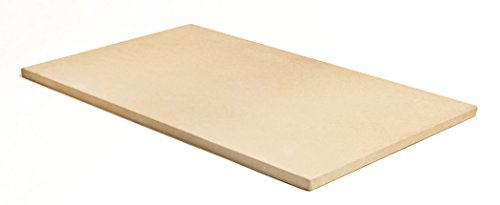 Pizzacraft PC9899 20 x 13.5 Rectangular Cordierite Baking/Pizza Stone for Oven or Grill