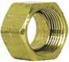 Per Package Of 10 Imperial 91105 Compression Fitting Nut With Sleeve 1//2