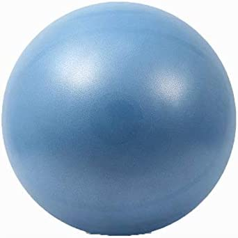 SMX エクササイズボール55センチメートル/ 65センチメートル/ 75センチメートルフィットネスピラティスヨガジム用ポンプ、アンチバースト&アンチスリップジムボール、ヨガボールバランスボール付き (Color : Blue, Size : 75cm)