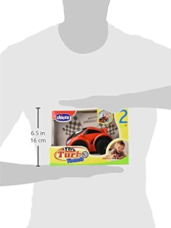 Amazon.com : Chicco 11 Cm Turbo Touch Wild Pull N Go Car : Toy Figure Accessories : Baby
