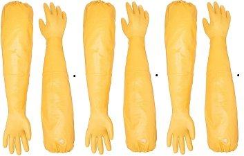 Showa Atlas 772 M Nitrile Elbow Length Chemical Resistant Gloves, 26