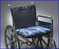 Econo-Gel Wheelchair Cushion BLUE - 18 X 16 X 2
