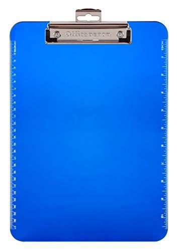 Office Depot Brand Plastic Clipboard, Blue ()