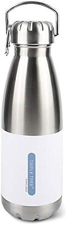 Mantenga el agua fría / caliente por mucho tiempo: la botella está diseñada con una doble pared de v