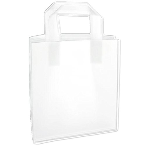 - Plastic Gift Bags with Handles - 25 Count (8x5x10)