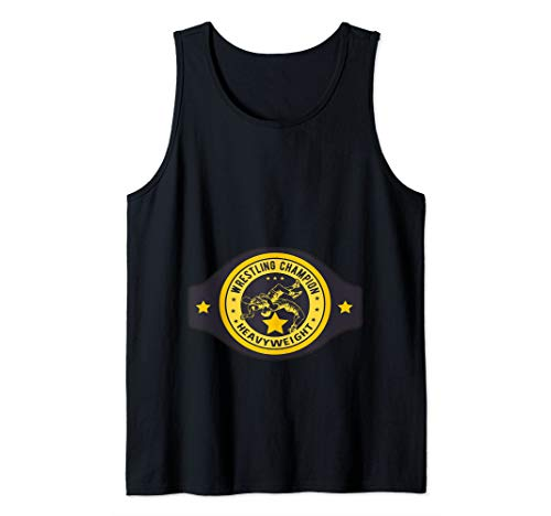 Wrestler Heavyweight Champion Halloween Costume Tank Top