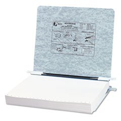 Pressboard Hanging Data Binder, 11 X 8-1/2 Unburst Sheets, Light Gray By: ACCO by Office Realm