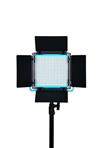 Dracast DRSPPLLK3x500DNH S Series Plus Daylight LED500 3-Light Kit 2 NPF Plates with Hard Case, Blue by Dracast (Image #1)