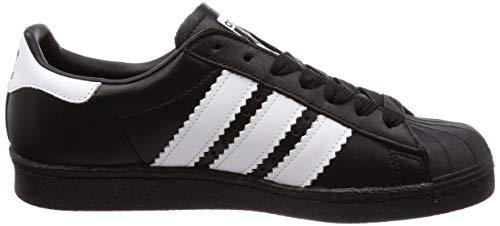 Sneaker ftwbla negbás Uomo Nero Superstar 000 negbás 80s Adidas qHgTPP
