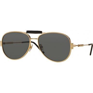 Versace Women's VE2167Q Gold/Grey - Versace Shade