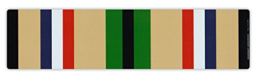 Magnetic Bumper Sticker - Desert Storm War Service Ribbon - Conflict Service Bar - 10