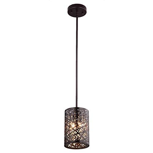 Dazhuan Antique Crystal 2-Lights Chandelier Metal Orb Pendant Lighting Hanging Lamp Fixture