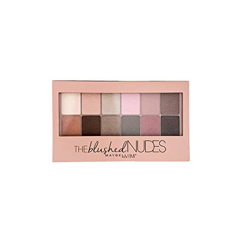 Maybelline New York Expert Wear Eyeshadow Palette, The Blushed Nudes 0.34 oz